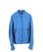 sisii(シシ)の古着「レザージャケット」|ブルー