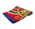 HERMES(エルメス)の古着「カレ90シルクスカーフ」 レッド×ゴールド