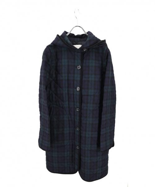 MACKINTOSH PHILOSOPHY(マッキントッシュフィロソフィー)MACKINTOSH PHILOSOPHY (マッキントッシュフィロソフィー) キルティングコート グリーン サイズ:40の古着・服飾アイテム