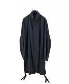 EN ROUTE(アンルート)の古着「ウールエステルトロ ジップ コート」|ブラック