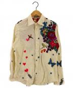 Bohemians(ボヘミアンズ)の古着「総柄シャツ」 ホワイト