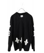 Supreme(シュプリーム)の古着「Fleur de lis Hockey Top」|ブラック