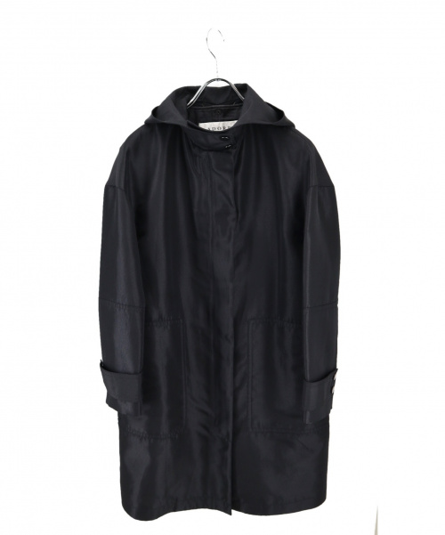 ADORE(アドーア)ADORE (アドーア) ハイカウントフーデットコート ブラック サイズ:36の古着・服飾アイテム