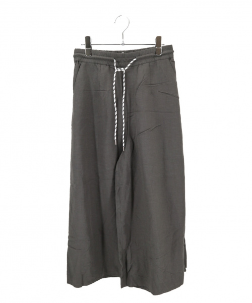 ASTRAET(アストラット)ASTRAET (アストラット) イージーワイドパンツ グレーの古着・服飾アイテム