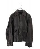 45rpm(umii 908)(フォーティーファイブ ウミキューゼロハチ)の古着「レザージャケット」|ブラック
