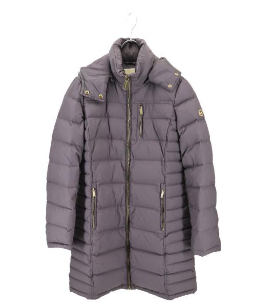 MICHAEL KORS(マイケルコース)MICHAEL KORS (マイケルコース) ダウンコート グレー サイズ:Sの古着・服飾アイテム