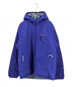 Patagonia(パタゴニア)の古着「Micro Puff Hooded Jacket マイクロパ」|ブルー