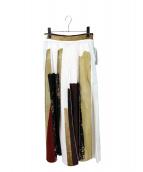Ameri VINTAGE(アメリビンテージ)の古着「FUDE ART SKIRT」|マルチカラー