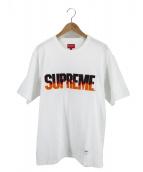 Supreme(シュプリーム)の古着「Tシャツ 19FW Flame S/S TOP」|ホワイト
