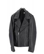 LEVIS MADE&CRAFTED(リーバイス メイドアンドクラフテッド)の古着「ダブルライダースジャケット」|ブラック