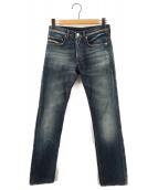 Dior Homme(ディオールオム)の古着「スキニーデニムパンツ 08W」|インディゴ
