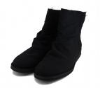 YOHJI YAMAMOTO(ヨウジヤマモト)の古着「ジップブーツ」|ブラック