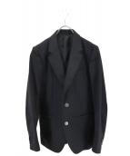 WACKO MARIA(ワコマリア)の古着「バック刺繍2Bジャケット」|ブラック