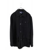 POLO RALPH LAUREN(ポロラルフローレン)の古着「ウールコート」|ブラック