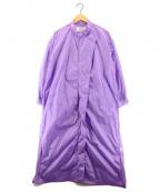 DOUBLE STANDARD CLOTHING(ダブルスタンダードクロージング)の古着「ナイロンタフタコート」 パープル
