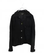 BY GLAD HAND(バイ グラッドハンド)の古着「カウスウェードジャケット」|ブラック
