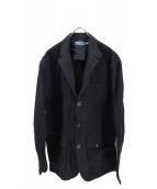 POLO RALPH LAUREN(ポロラルフローレン)の古着「コットンポリクロスコート」|ブラック