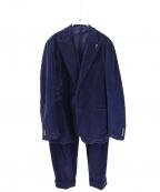 GABRIELE PASINI(ガブリアルパジーニ)の古着「ベルベット3Pセットアップ」|ネイビー