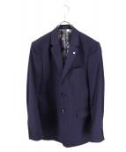 TED BAKER(テッドベイカー)の古着「裏地デザイン2Bジャケット」|ネイビー