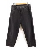 bukht(ブフト)の古着「デニムパンツ」|ブラック