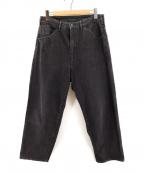 bukht(ブフト)の古着「デニムパンツ」 ブラック
