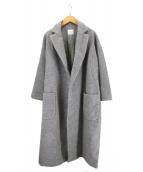 yuni(ユニ)の古着「チェスターコート」|グレー