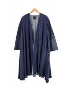 WAVEN×Demi-Luxe BEAMS(ヴォーヴン×デミルクスビームス)の古着「別注デニムデザインコート」 インディゴ