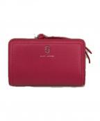 MARC JACOBS()の古着「2つ折り財布」|ピンク
