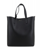 Saint Laurent Paris(サンローランパリ)の古着「Calfskin Toy Shopping Tote」|ブラック
