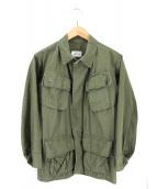 US ARMY(ユーエスアーミー)の古着「60'S 4TH  ファティーグジャケット」 グリーン