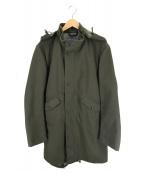 Fraizzoli(フライツォーリ)の古着「フーデッドコート」|グリーン