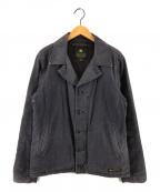 NEIGHBORHOOD(ネイバーフッド)の古着「16AW N-4ミリタリーデッキジャケット」|ネイビー