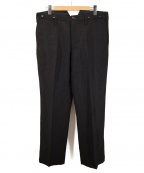 GANGSTERVILLE(ギャングスタービル)の古着「SPEAKEASY PANTS 18AW」|ブラック