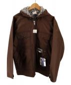 ()の古着「ナイロンハンティングジャケット」 ブラウン