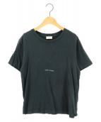 Saint Laurent Paris(サンローランパリ)の古着「クラシックロゴプリントTシャツ」|ブラック