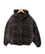 MOONGOOSE(ムーングース)の古着「ダウンジャケット」 ブラック