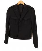 JOHN LAWRENCE SULLIVAN()の古着「ショート丈ミリタリーブルゾン」|ブラック