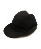 ()の古着「EARMUFFS CAP 19AW」 ブラック