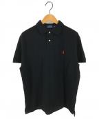 POLO RALPH LAUREN(ポロ・ラルフローレン)の古着「ポロシャツ」 ブラック