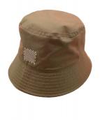 NEON SIGN(ネオンサイン)の古着「Space Iconfoil Bucket Hat」 玉虫