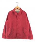 EVERLAST(エバーラスト)の古着「裏ボアコーチジャケット」|レッド