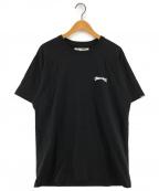 CHALLENGER(チャレンジャー)の古着「FIRE LADY TEE プリントTシャツ」 ブラック