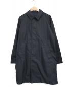 ()の古着「バルカラーコート」|ネイビー