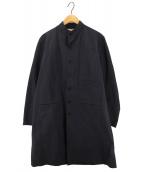 HONOR GATHERING(オナーギャザリング)の古着「ナイロンコート」|ネイビー