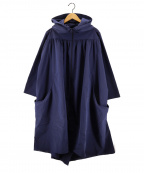 tsumori chisato(ツモリチサト)の古着「ナイロンフーデッドコート」|ネイビー