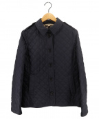 BURBERRY BRIT(バーバリーブリット)の古着「キルティングジャケット」|ネイビー