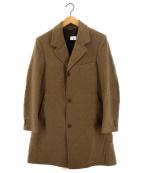 Fraizzoli(フライツォーリ)の古着「カシミヤチェスターコート」|ベージュ