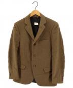 Fraizzoli(フライツォーリ)の古着「カシミヤ3Bジャケット」|ベージュ