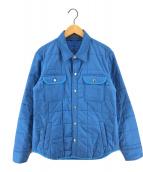 ()の古着「キルティングジャケット」 ブルー