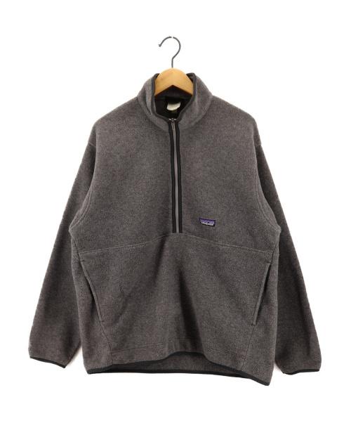 Patagonia(パタゴニア)Patagonia (パタゴニア) シンチラハーフジップフリースジャケット グレー サイズ:Lの古着・服飾アイテム